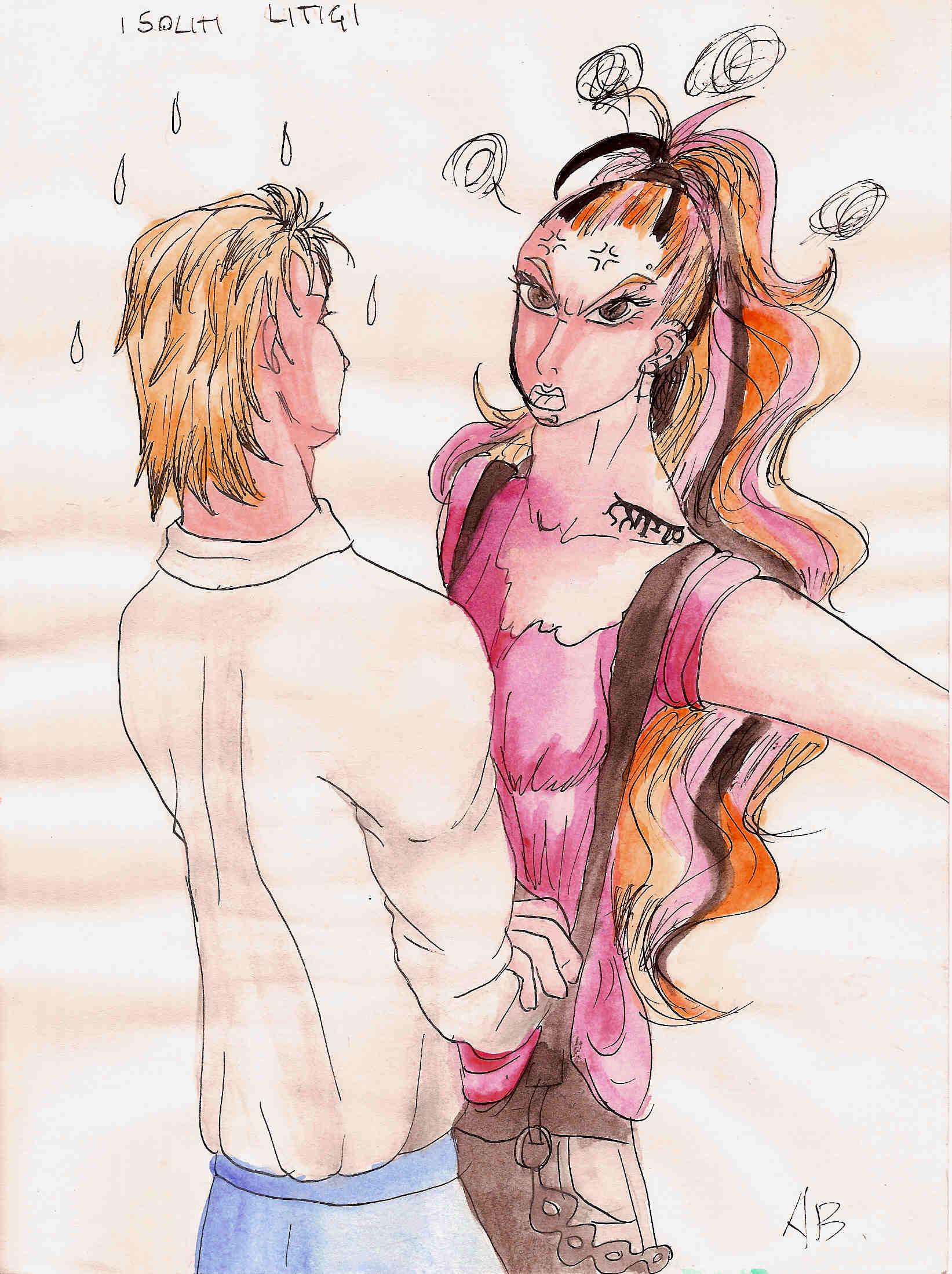 Astrid e Karl: i soliti litigi