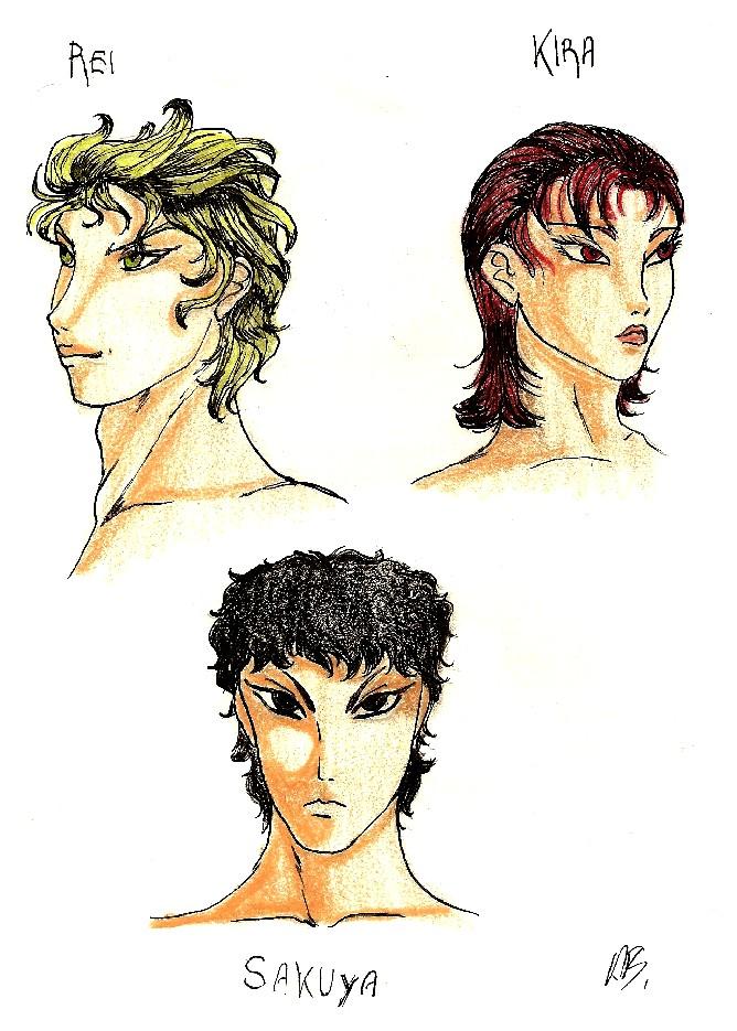 Rei-Kira-Sakuya: gli eredi