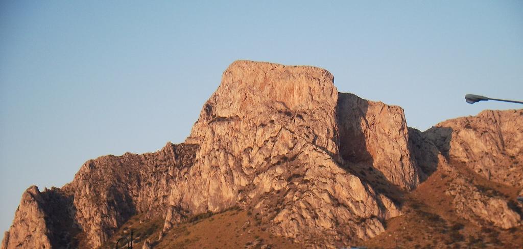 tramonto su montagna palermo
