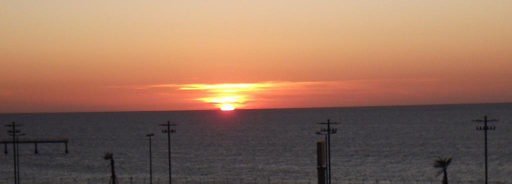 tramonto sul mare siciliano