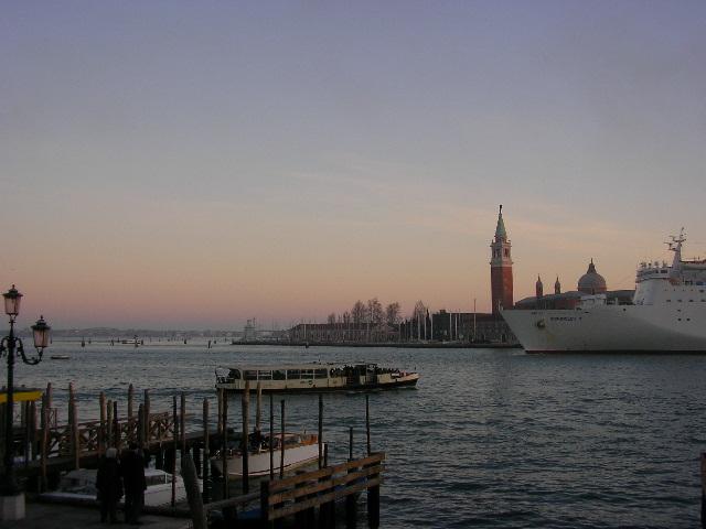crepuscolo a Venezia
